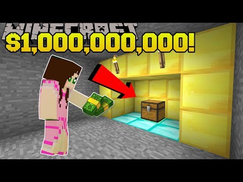 Minecraft: $1,000,000,000 TREASURE!!! - FIDGET SPINNER CRAFTERS - Custom Map [2]
