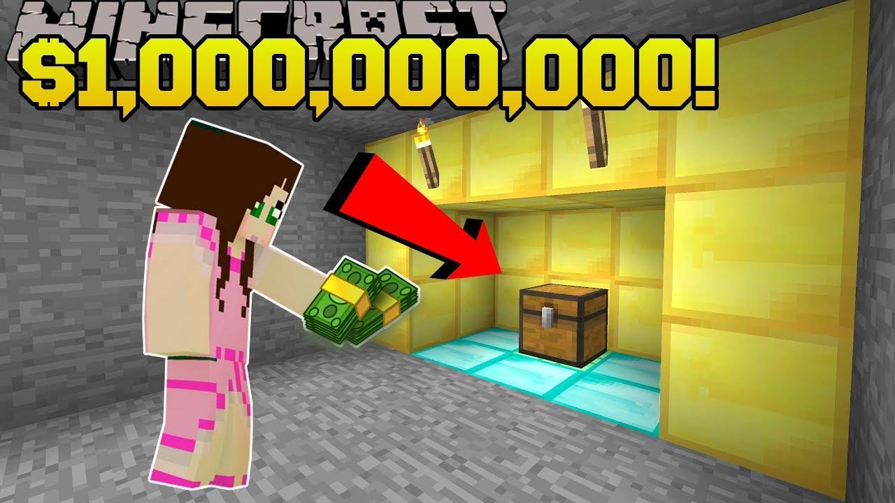 Minecraft: $1,000,000,000 TREASURE!!! - FIDGET SPINNER CRAFTERS - Custom on