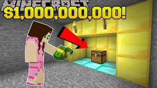 Minecraft: $1,000,000,000 TREASURE!!! - FIDGET SPINNER CRAFTERS - Custom Map [2] thumbnail
