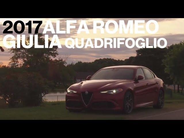 Alfa Romeo Giulia Quadrifoglio Hot Lap At Vir Lightning Lap 2017 Car And Driver