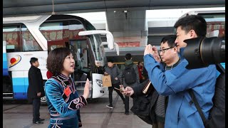 Delegates arrive in Beijing for NPC & CPPCC annual sessions| CCTV English
