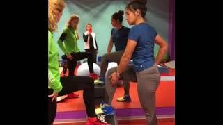 Коррекционные упражнения с учётом осанки