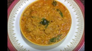 Vada Curry Recipe (Tamil)