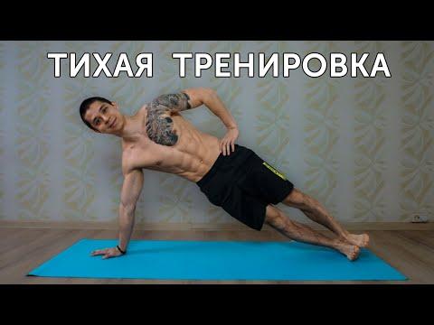 ТИХАЯ ТРЕНИРОВКА ДЛЯ ДОМА! Упражнения на все тело! | Neofit 76