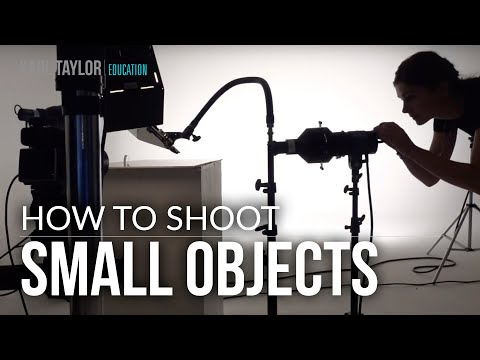 Product Photography: How To Photograph Small Objects