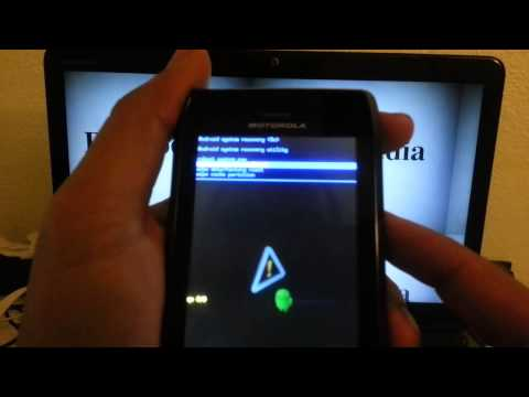 Motorola Droid 4 Verizon: HARD RESET PASSWORD REMOVAL how-to