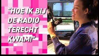 HOE IK BIJ DE RADIO TERECHT KWAM * VLOG #8