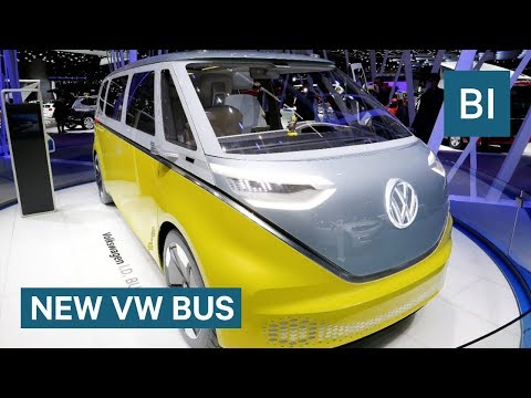 The classic VW bus is coming back as an all-electric vehicle