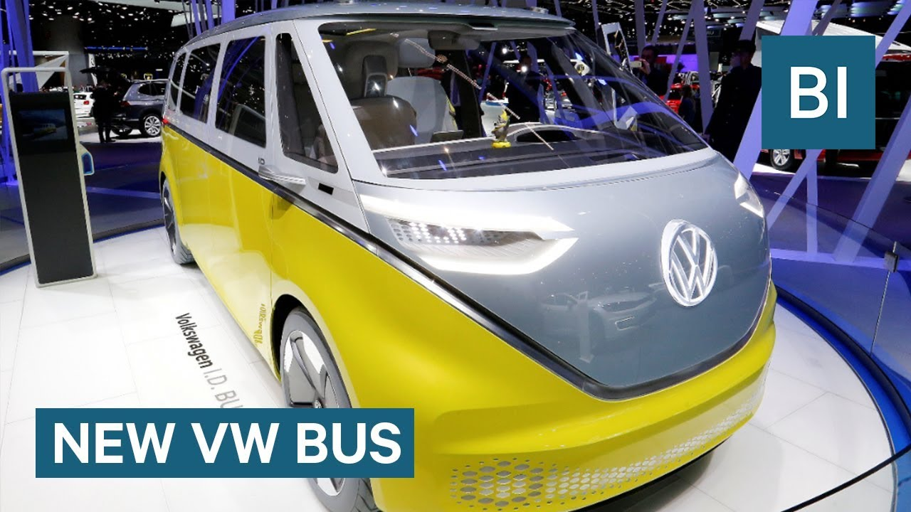 The Classic Vw Bus Is Coming Back As An All Electric