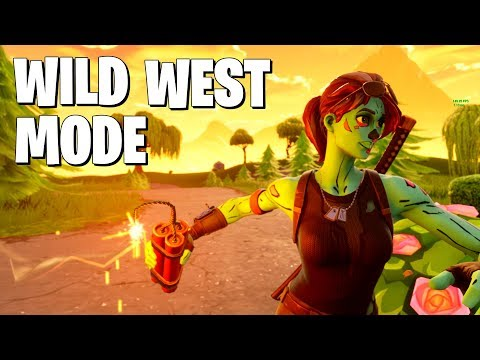 *NEW* Wild West Mode In Fortnite Is AMAZING (Fortnite Battle Royale)