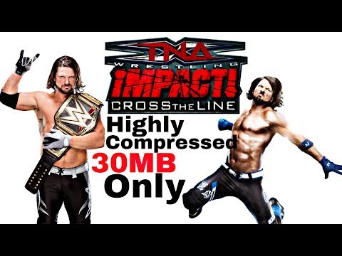 Highly Compressed Ppsspp Game Tna Impact Cross The Line Gameplay