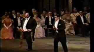 Placido Domingo & Luciano Pavarotti - Boheme's duet