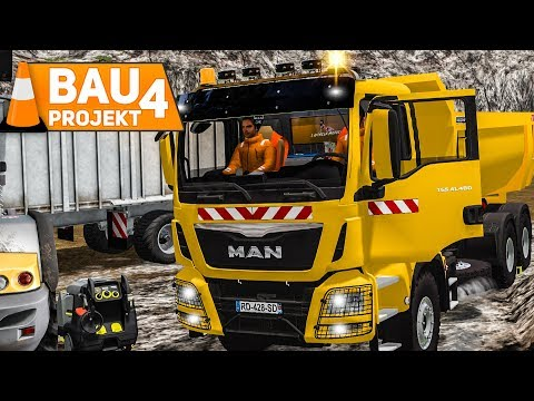 LS 17 Construction #4: Mit dem Bagger in der Mine! | LS17 Mining and Construction deutsch