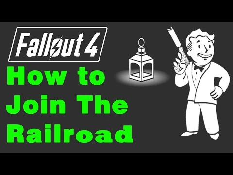 Fallout 4: How to Find the Railroad Faction (Road to Freedom Quest Guide (Railroad Achievement)