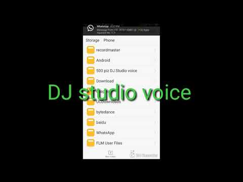 500 piz DJ studio voice Download