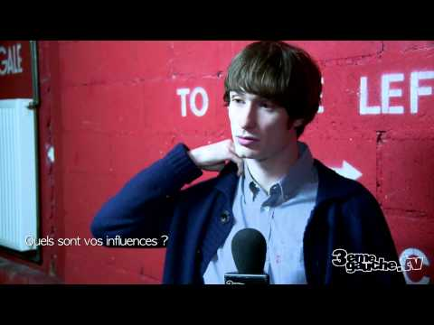 Interview Backstages THE CORAL @ La Cigale VOST