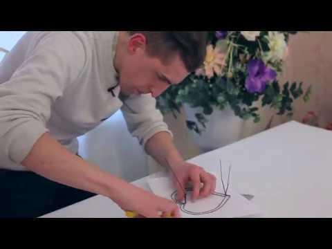 КАРКАС СЕРДЦЕ для Букета цветов Как сделать каркас для букета из проволоки ФЛОРИСТИКА