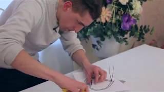 як зробити каркас із дроту для букета