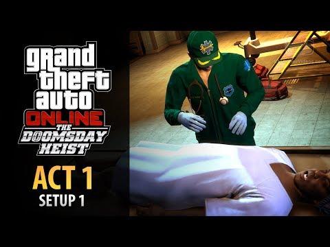 GTA Online: Doomsday Heist Act #1 - Setup: Dead Courier (Elite & Mastermind II)
