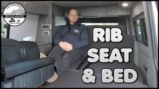 VW CAMPERVAN - RIB ALTAIR BED & SEAT - VOLKSWAGEN T5 & T6 CAMPERS