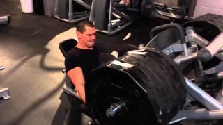 Leg Press 720 pound 327 kg 8 reps