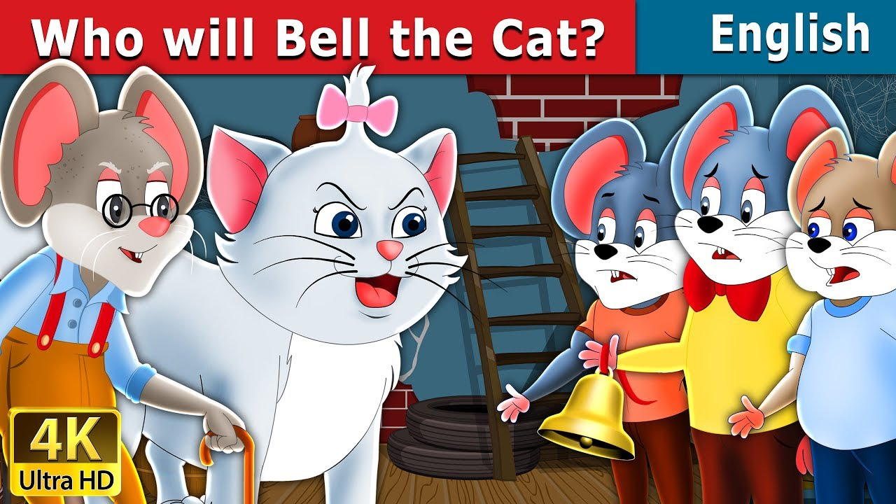 Who will Bell the Cat in English | Story | English Fairy Tales