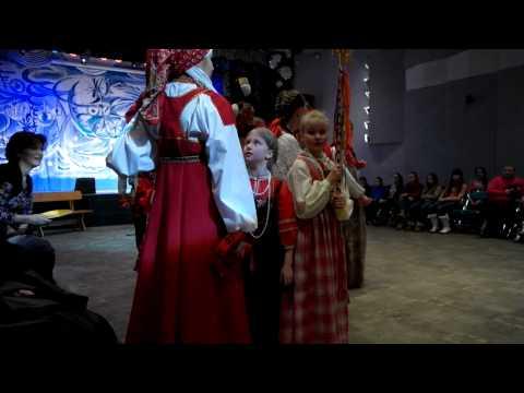 """""""Рождественские колядки"""" Творческий вечер фольклорного ансамбля """"Коляда"""""""