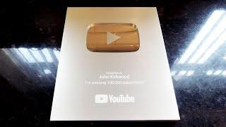 YouTube Silver button award (Thank You)