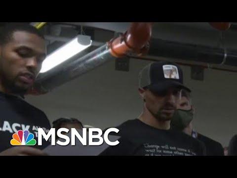 Boycotts Disrupt Sports In Wake Of Jacob Blake Shooting | Morning Joe | MSNBC