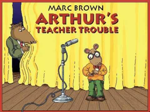arthurs teacher trouble coloring pages - photo#2