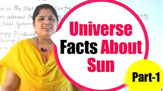 Universe Facts About Sun Part -1 | Surprising Facts About Moon | The Secrets of the Universe