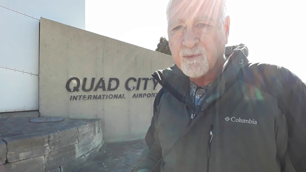 Don Wede in the Quad Cities looking at Probate Files