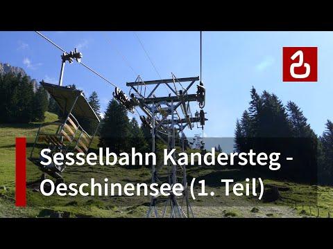 Sesselbahn Kandersteg-Oeschinen (1/2)