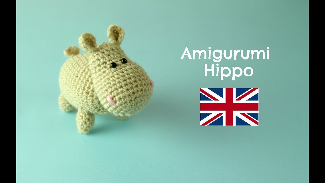 How To Crochet An Hippo World Of Amigurumi Youtube