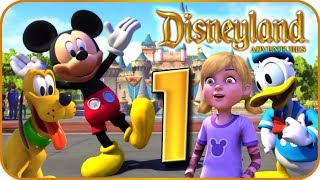 Disneyland Adventures Walkthrough Part 1 (PC, X360, XB1) ~ Mickey Mouse and Friends ~