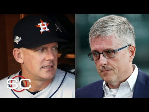 Reacting to Astros manager AJ Hinch and GM Jeff Luhnow being fired for cheating | SportsCenter