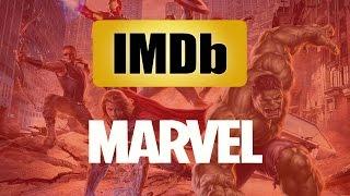 Marvel Movies Ranked based on IMDb Ratings!