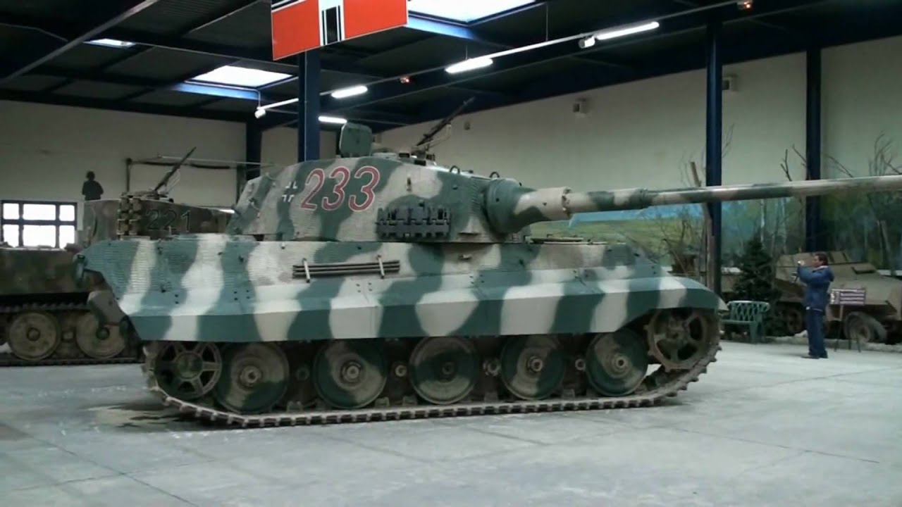 tigre royal full hd kingtiger panzers tank 2010 part 2