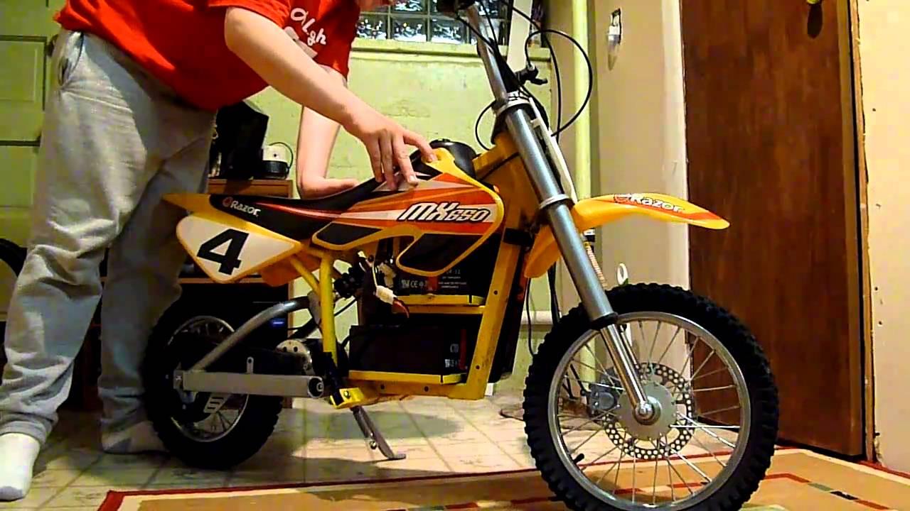 Razor Mx650 Dirt Bike Review Youtube