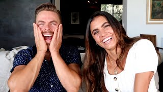 Asking my girlfriend *JUICY* questions! - Dayley Life with Derek Hough and Hayley Erbert