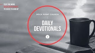 Gambar cover Rock Point Church Daily Devotional 07/10/19