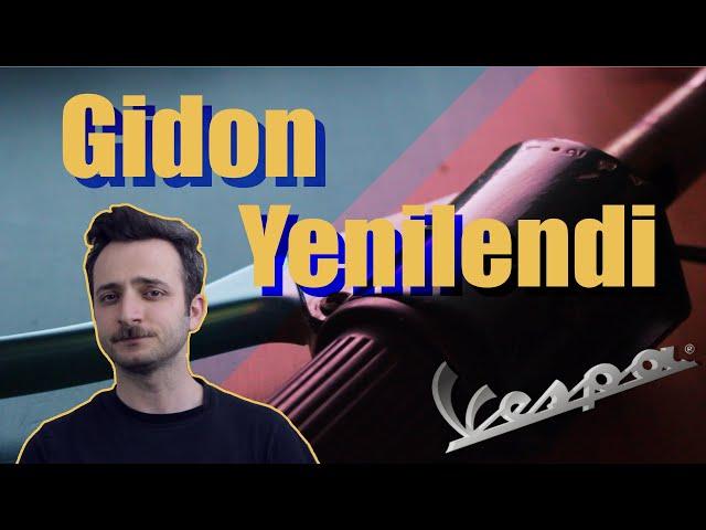 Gidon da Yenilendi! - Vespa Elektrikli Dönüşüm ve Yenileme Projesi