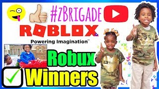 Robux Winners Of Hobby Giveaway #14 Winners Good Luck -CLOSED