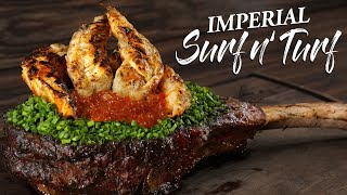 Most EXPENSIVE Surf n' Turf I ever made | Guga Foods
