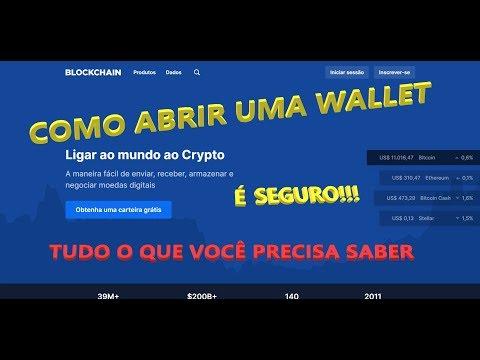 Aprenda Como Funciona E Como Abrir Uma Carteira Na Blockchain Para Guardar Bitcoin.  Porque Ter Uma?