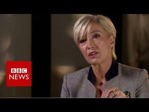 Emma Thompson: Weinstein 'top of harassment ladder'  - BBC News