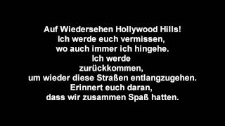 Sunrise Avenue - Hollywood Hills [Deutsche übersetzung]