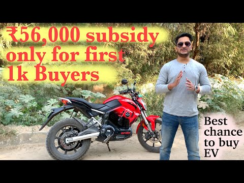 Subsidy of 56,000 on electric vehicle || Revolt RV 400 long term review