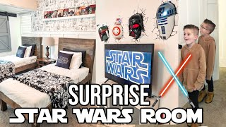 2 HOURS + $200 BUDGET | Surprise Star Wars Room For Our Twins!