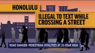 NBC Nightly News: Distracted Walking